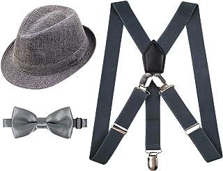 مجموعه تعلیق و تعظیم کراوات Alizeal 1 اینچ با کلاه تطبیقی برای کودکان