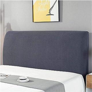 JHWSX Cubierta de Cabecera de Cama, Protector de Cabecera de Cama de Color Sólido Elástico, Cubierta de Cabecera de Cama A Prueba de Polvo para Dormitorio Decorativo (Color : 5, Size : 1.8m)
