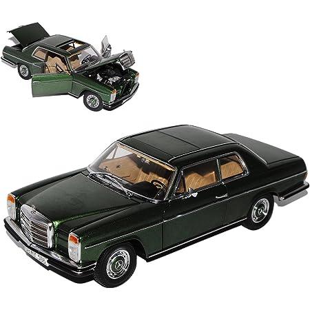 Sun Star Mercedes Benz 220 8 Strich Acht Limousine Dunkel Grün Schwarz W114 1967 1976 1 18 Modell Auto Mit Individiuellem Wunschkennzeichen Spielzeug