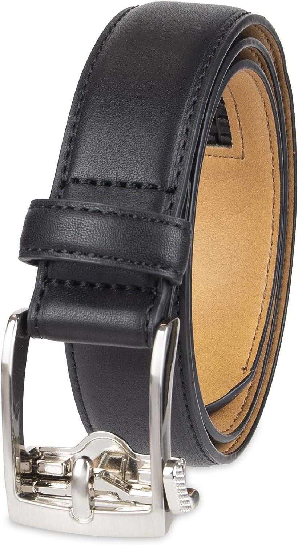 Exact Fit Boys' Big Perfect Fit Adjustable Ratchet Belt