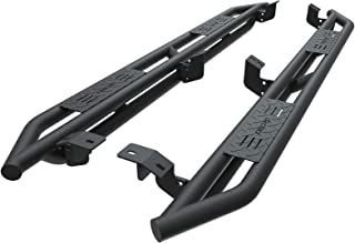 OEDRO 6 inch Side Step Compatible for 2005-2018 Toyota Tacoma Double Cab, Upgraded Running Boards Textured Black Heavy Duty Truck Nerf Bars, Unique Multi-layer Slip-proof (Fits Double Cab Only)