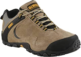 Dewalt Plane Safety Shoes, 42 EU, 50053-127-42, Brown
