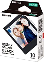 فيلم فوجي فيلم مربع إنستاكس باللون الأسود - 10 أوضاع