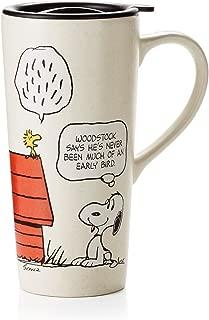 Hallmark Paj1107 Peanuts Travel Mug - Snoopy & Woodstock
