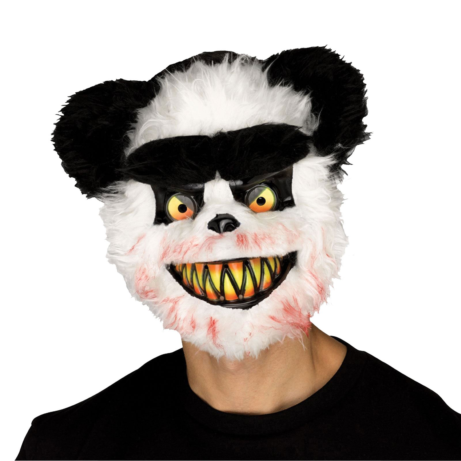 Halloween Adult zombie Killer Critters oso panda máscara y capa ...