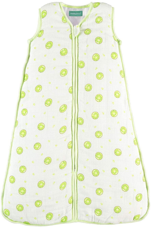Super Soft and Light Muslin Wearable Blanket Unisex Kiwi Print 30.3 0.5 TOG Baby Sleep Bag and Sack 6-12 Months