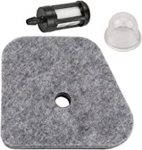 Trustsheer 4180-120-1800 Air Filter + Fuel Filter & Primer Bulb for STIHL FS87 FS90 FS100 FS110 FS130 HL90 HL100 HT101 HT130 HT131 KM100 KM130 FC95 FC90 FC110 FC100 String Trimmer