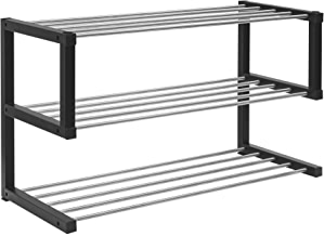 Allspace 3-Tier Shoe Storage Rack up to 12 Pairs Stackable