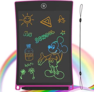 GUYUCOM 8.5-Inch LCD Writing Tablet Colorful Screen Doodle Board Electronic Digital..