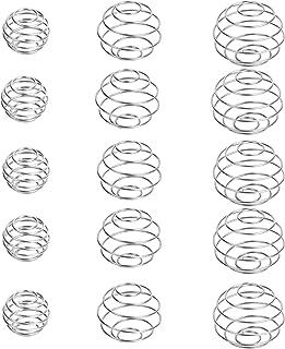 15 Pièces Protéine Shaker Acier, Inoxydable Boules de Mélange Durable, Shakers à Protéines en Acier Inoxydable, Protéines ...