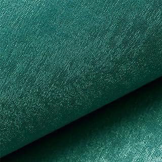 Elegant Platinum Möbelstoff, leichter Glanz, Polsterstoff Möbel Sitzbezug Stoff, Meterware - Türkis 33
