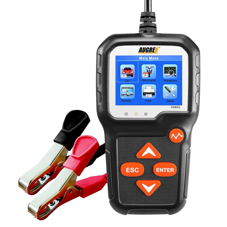 Car Battery Tester 6V 12V Very popular Atlanta Mall OBD2 Scanner 1 in CCA 2 100-2000 Load