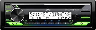 JVC KD-T91MBS Car & Marine Receiver with CD Bluetooth, USB, SiriusXM Ready, Amazon Alexa, Conformal Coated PCB