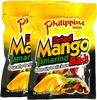 Philippine Dried Mango Tamarind Balls, 100g, Pack of 2, Product of Philippines