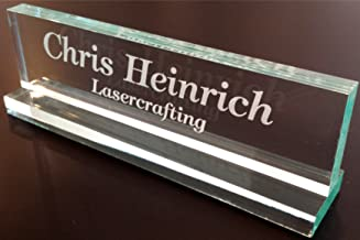 Office Desk Name Plate 1/2