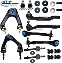 DLZ 14 Pcs Suspension Kit-2 Front 2 Rear Upper Control Arm 2 Lower Ball Joint 2 Outer 2 Inner Tie Rod End 2 Front Sway bar 2 Strut Mounting Kits Compatible with 1990 1991 1992 1993 Honda Accord K9816