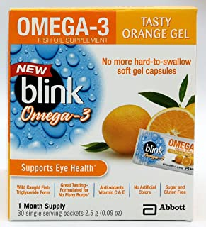 Blink OMEGA-3 Fish Oil Supplement