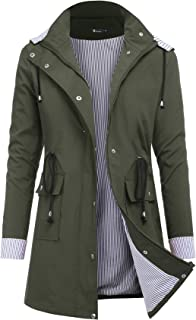 Best olive green rain jacket Reviews
