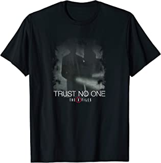 trust no one t shirt x files