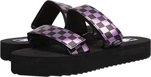 (Iridescent) Checker/Black