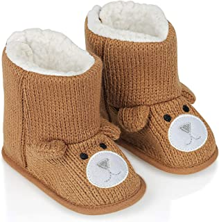 HUGMO Bear Baby Happy Fleecy, Warm Boots/Slippers