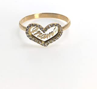 Pure gold ring mama 32483