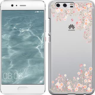 [Breeze-正規品] iPhone ・ スマホケース ポリカーボネイト [透明-Pink] HUAWEI P10 ケース ファーウェイ p10 カバー SIMフリー カバー 液晶保護フィルム付 全機種対応 [P10] [P101810BA]
