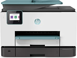 HP OfficeJet Pro 9025 All-in-One Wireless Printer, Instant Ink Ready with 2 Months Trial Included, Print, Scan, Copy from Your Phone and Voice Activated (Works with Google Assistant), Dreamy Teal
