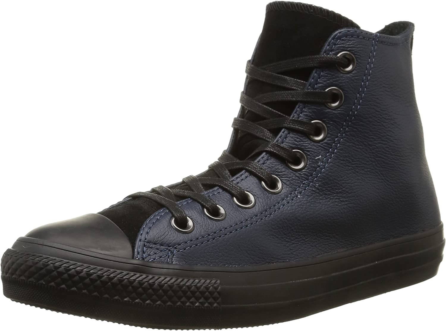 Converse, Men, All Star hi Leather Suede