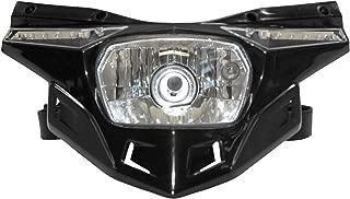 UFO Plastics Headlight - Black , Color: Black PF01715-001
