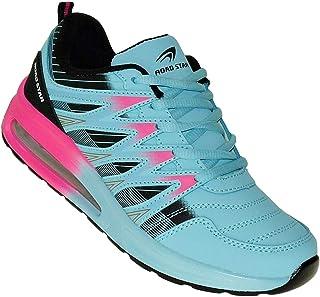 Bootsland Neon Turnschuhe Sneaker Sportschuhe Luftpolster Unisex 002