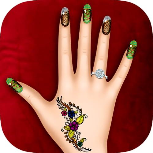 Nail Art manicure uñas - juego para chicas