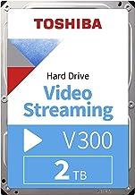 "Toshiba HDWU120UZSVA 2TB V300 3.5"" Video Streaming Hard Drive"
