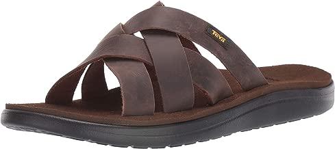 Teva Mens Men's M Voya Slide Leather Sandal