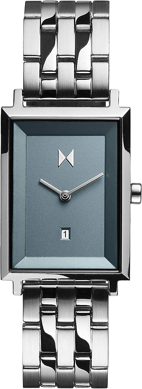 MVMT Reloj Analógico para Mujere de Cuarzo con Correa en Acero Inoxidable D-MF03-SS