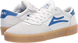 White/Blue Suede