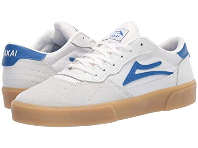 Lakai Cambridge (White/Blue Suede) Men