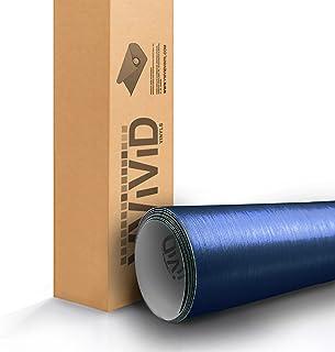 VViViD Blue Brushed Vinyl Wrap Roll (17.75