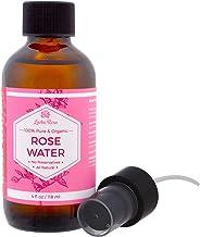 Leven Rose 100% Pure & Organic Rose Water 4 fl oz