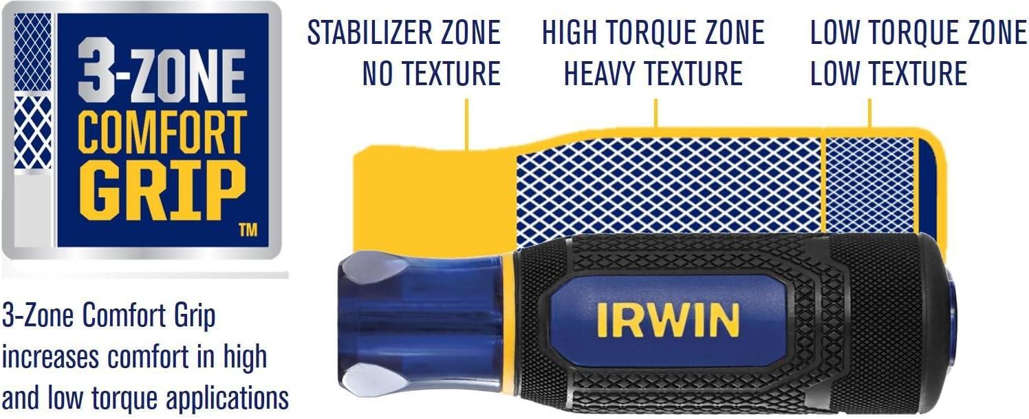 Irwin Tools 1948791 Irwin Performance Series Metric Nutdriver Set 7Piece,