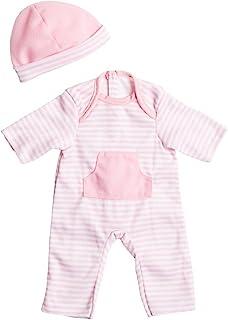 JC Toys CLO13107 Romper for Dolls, 9 - 11 Inch, Light Pink