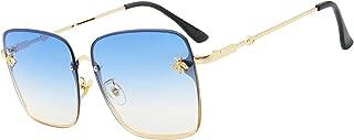 large square frame sunglasses women designer gradient sunglasses women mirror oculos ladies shades alloy