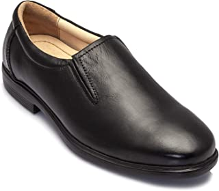 tZaro Genuine Leather Black Shoes - SM Sam, FRMC24223SG