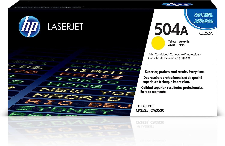 HP 504A | CE252A | Toner-Cartridge | Yellow