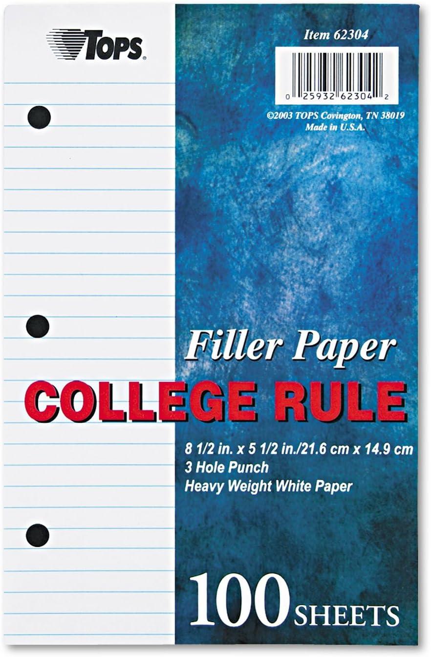 TOP62304 - Filler Paper