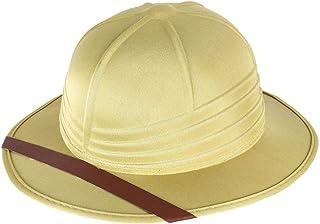 Rimi Hanger Mens Womens Safari Explorer Hunter Helmet Hat Adults Fancy Party Accessories One Size Fits Most