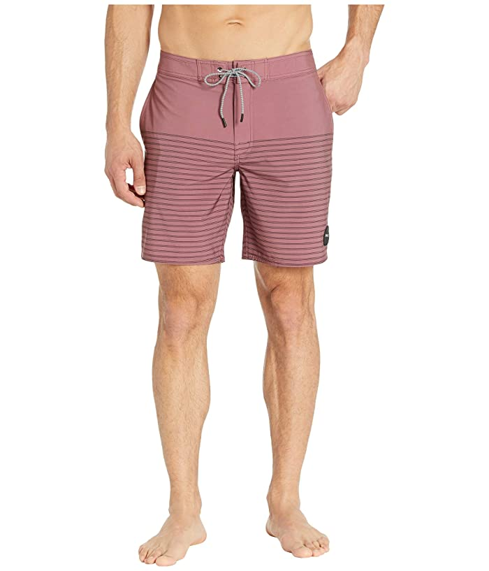 RVCA Curren Caples 18 Trunk (Dusty Plum) Men