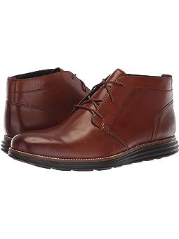 콜한 오리지널 그랜드 처카 부츠 Cole Haan Original Grand Chukka,Woodbury Leather/Dark Roast