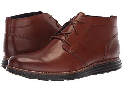Cole Haan Original Grand Chukka (Woodbury Leather/Dark Roast) Men