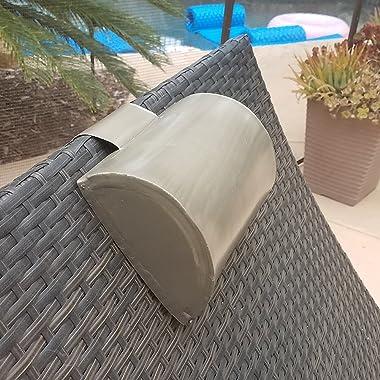 California Sun Deluxe Weighted Soft Spa Pillow Cushion (Aquamarine)
